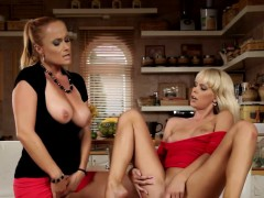 Lesbo Sex With Milf And A Teen