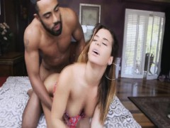 Massive black cock sucked by Keisha Grey