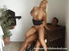 sweet amateur blond girl