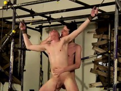 Teen boy fuck together He's nude and limp, feeble and incapa