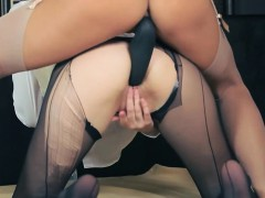 Hot lezzs fucking in front of mirror