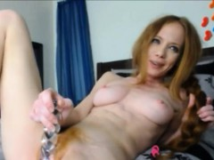 Redhead Teen With Hairy Pussy Webcam Toying