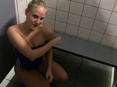 She Likes Shagging in Public Toilets