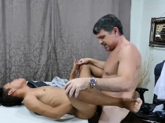 Daddy and Asian Boy Jordan Bareback
