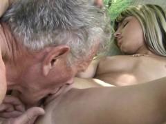 Teen Step Sister Masturbating Doggy Style Fucks Old Man