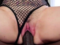 Slim and tattooed Kleio Valentien auditions and gets an anal