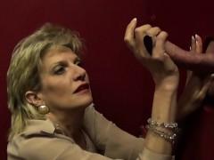 Unfaithful English Mature Gill Ellis Shows Off Her Large Nat