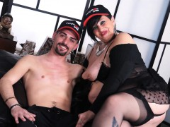 Scambisti Maturi - Squirting Bbw Mature Gets Ass Fucked Deep