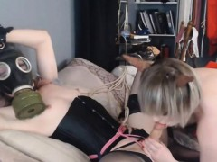 Horny Blonde Female Hungers For A Tranny Cock
