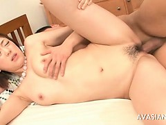 Japanese Couple Having Oral And Fucking Fun