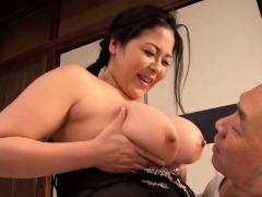 Japanese amateur Asian big boobs mother