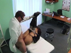 Billie gets fucked by the pervy doctor