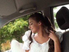 Cute teen ditched by her boyfriend and fucked by stranger