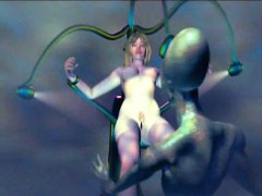 Hottie 3D anime babe gets fucked by a monster