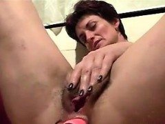 Horny Mommy Toys With Her Dirty Ass