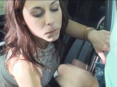 Antonia Sainz hitchhikes and gets nailed by pervert stranger