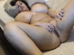 Thick And Busty Slut Fingering