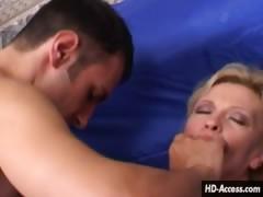 Young Couple Fucks Hot Milf