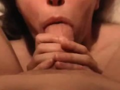 She gets him cum and licks his butt