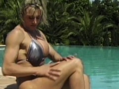 Muscles lesbians outdoor