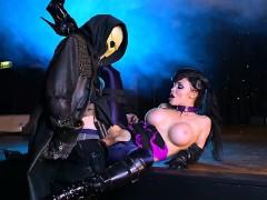 Busty Pornstar Aletta Ocean Gets Good Dicking