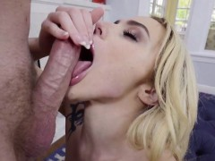 Blonde Babe Kimberly Moss Gets Drilled And Creamed
