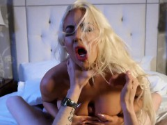 Wild milf Nicolette Shea gets ripped by her husbands brother