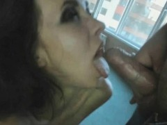 My Teen Next Door Gave Me Blowjob and Her Little Pussy