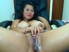 Big boobs ex girlfriend squirting