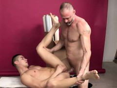 Amazing dude riding monster dick