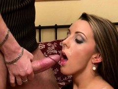 CRAZY HOT Euro Babe Loves Taking Big Cock