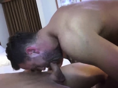 Sexy and fit amateur hunks fucking hard in hotel room