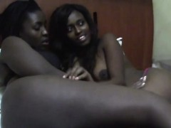 Busty Ebony Chicks Are In Love With Each Other's Tight