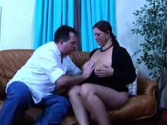 Bbw German Slut Sucks and Fucks