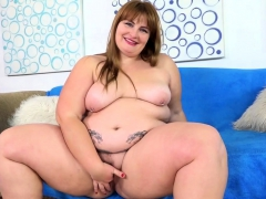 Sexy Bbw Shows Her Fat Ass Juicy Tits And Plump Pussy She