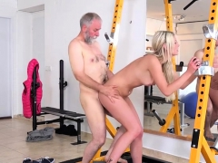 Teen Blondie Martina D Gets Bent Over And Fucked