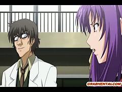 Japanese hentai schoolgirl self masturbation