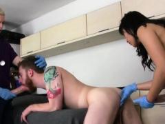 Cuties bang boyfriends butt hole with big belt cocks and bla