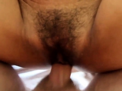 Thai amateur gets asshole fingered and loudly fucked by