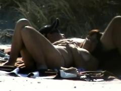 Mature Brunette Woman Outdoor Bj