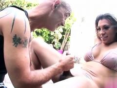 Hot Shemale Hardcore And Cumshot