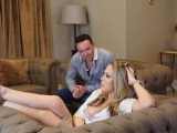 Kasey's teen cunt pounded by horny dad