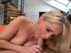 Blonde Pensioner Plowed