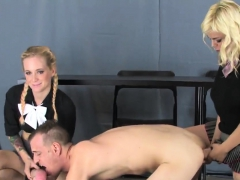 Kittens Drill Dudes Anus With Big Strap Dildos And Squirt Ji