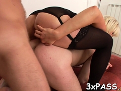 Hot ambisexual boyfrends love banging every other and girls