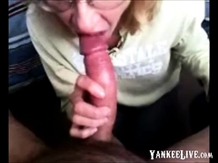 Blowjob Buddy Gives Me My First Deepthroat
