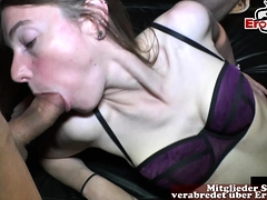 creampie gangbang with german girls and cum loads