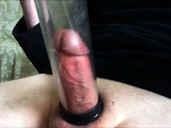Cumming Inside My Penis Pump