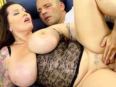 Thick and busty Laura Orsolya is a stunning model and even