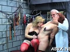 Amateur honey pussy shagged in thraldom scenes